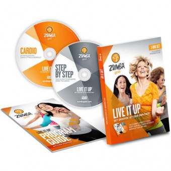 Zumba Fitness Gold Live It Up-Low Impact