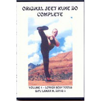 Jeet Kune Do Volume 4-Lower Body Tools-Sifu Lamar M. Davis II