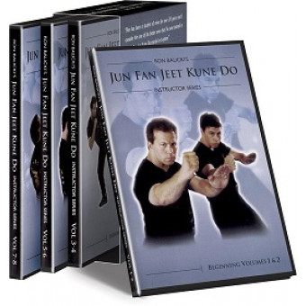 Ron Balicki Jun Fan Jeet Kune Do Instructor Series 8 DVD set
