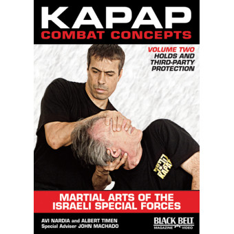 Kapap Combat Concepts DVD 2-Holds and Third-Party Protection-Avi Nardia