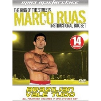 Marco Ruas: Brazilian Vale Tudo - Instructional Box Set 14Vol set