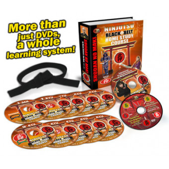 Ninjutsu Black Belt Home Study Course 10 Volume set-Richard Van Donk