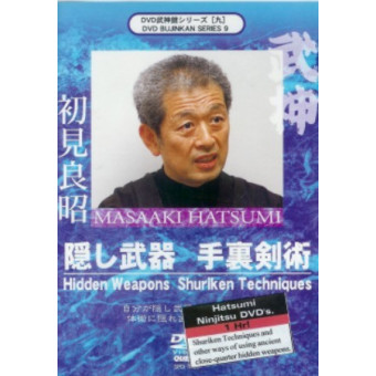 Hidden Weapons and Shuriken Techniques-Masaaki Hatsumi