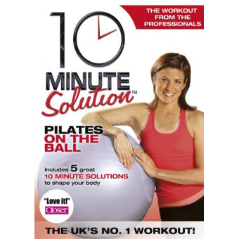 10 Minute Solution-Pilates on the Ball