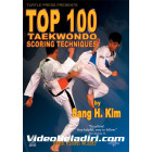Top 100 Taekwondo Scoring Techniques-Sang H Kim