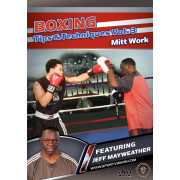 Boxing Tips and Techniques 3 volume Fundamentals,Bag Work,Mitt Work by Jeff Mayweather