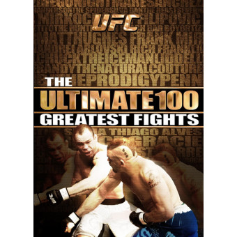 UFC The Ultimate 100 Greatest Fights 8 DVD