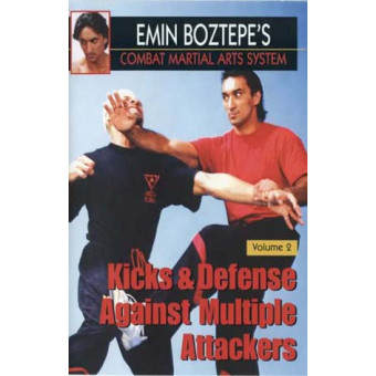 Emin Boztepe Combat Martial Arts System DVD 2-Kicks and Defense Against Multiple Attackers