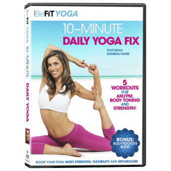 10 Minute Daily Yoga Fix-Befit Yoga-Rainbeau Mars