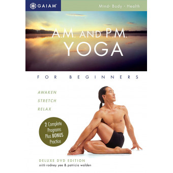 A.M. and P.M. Yoga For Beginners-Rodney Yee-Patricia Walden